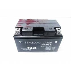 Battery for scooter or moped brand THUNDER POWER 12v 8.6Ah YTZ10Sde TAB model O.