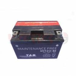 Battery for scooter or moped brand THUNDER POWER 12v 11Ah YTZ12Sde TAB model O.