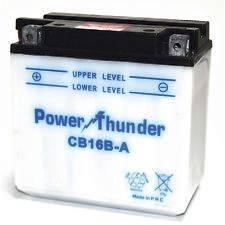 Bateria para moto o ciclomotor marca POWER THUNDER, TAB modelo YB16B-A de 12v 16Ah