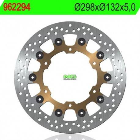 Motorcycle Yamaha XJ6 2014 Right Front Brake Disc Replacement