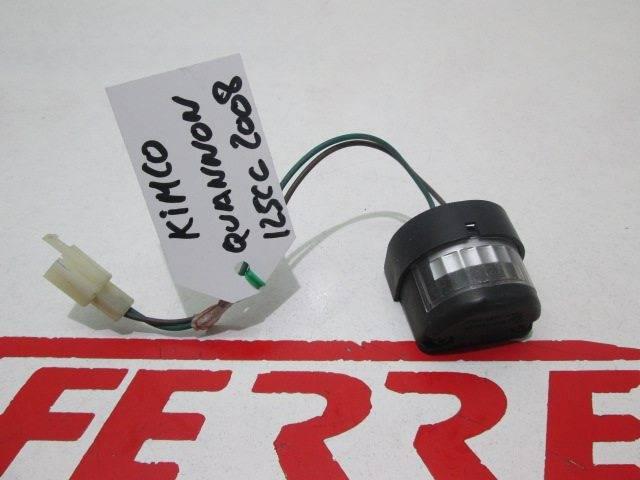 ENROLLMENT PILOT LIGHT Quannon 125 2008