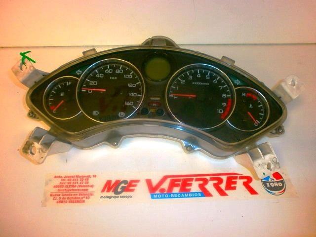 VELOCIMETRO COMPLETO (LOS DOS TETONES TRASEROS REPARADOS) de repuesto de una moto HONDA NSS 250 X (FORZA) 2007