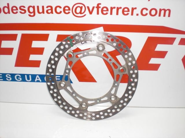 FRONT BRAKE DISC HONDA CR 125 CROSS