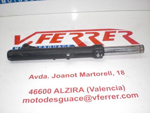 BARRA HORQUILLA DELANTERA DERECHA (BARRA DOBLADA SOLO BOTELLA) de repuesto de una moto HONDA NSS 250 X (FORZA) 2007