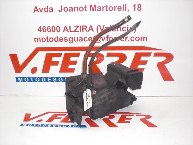 BOX AIR FILTER HONDA REBEL 250 with 30259 km.