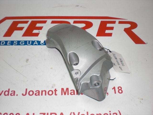 APOYO DERECHO PUENTE BASCULANTE de repuesto de una moto HONDA SILVER WING 582CC 2007