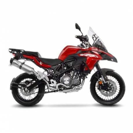 Escape Leovince BENELLI TRK 502 X (18-19) Lv One Evo Acero 14281E