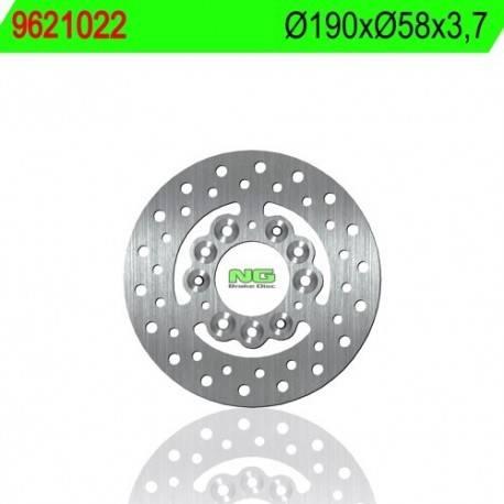 REAR MULTI-DISK BRAKE DISK NG MEASURES 190 X 58 X 3.7