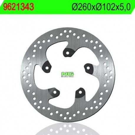 REAR BRAKE DISC NG MEASURES 260 X 102 X 5