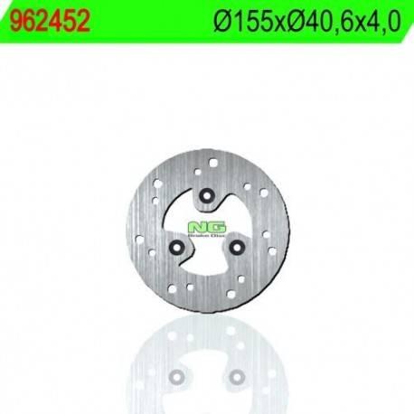 FRONT BRAKE DISC NG MEASURES 155 X 40.6 X 4