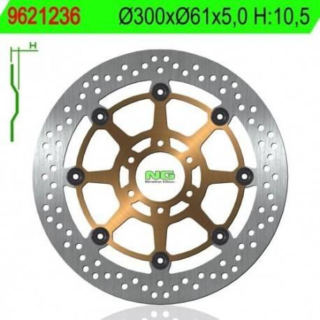 BRAKE DISC NG MEASURES 300 X 61 X 5