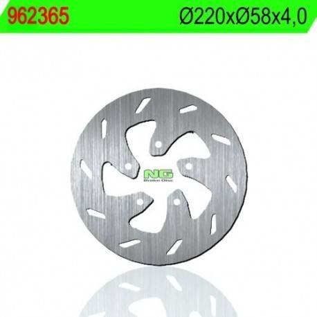 BRAKE DISC NG MEASURES 220 X 58 X 4