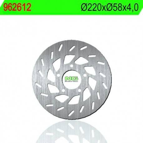 BRAKE DISC NG MEASURES 220 X 58 X 4