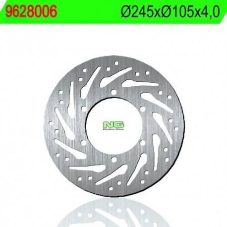 BRAKE DISC NG MEASURES 145 X 105 X 4