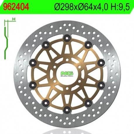 BRAKE DISC NG MEASURES 298 X 64 X 4