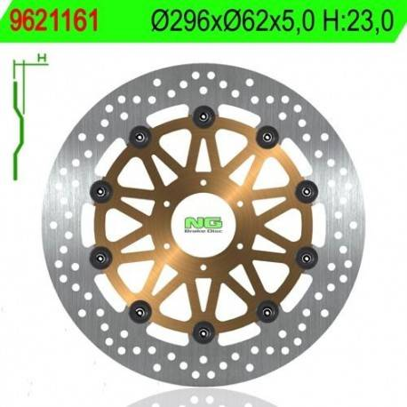 BRAKE DISC NG MEASURES 296 X 62 X 5