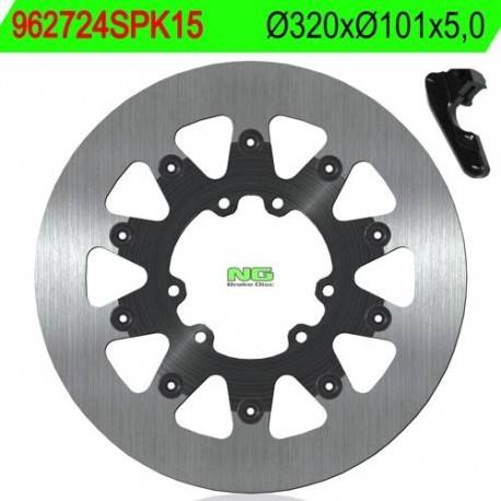 BRAKE DISC NG MEASURES 320 X 101 X 5