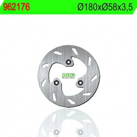 BRAKE DISC NG MEASURES 180 X 58 X 3.5