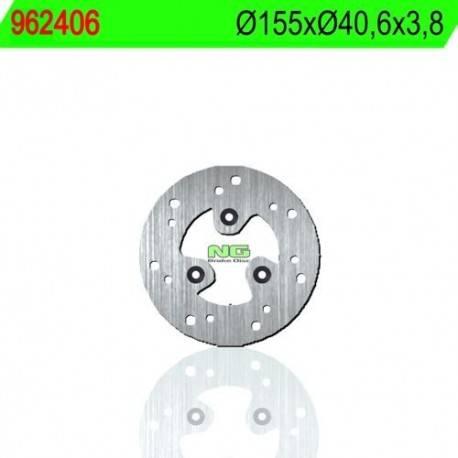 BRAKE DISC NG MEASURES 155 X 40.6 X 3.8