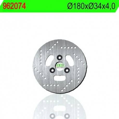 BRAKE DISC NG MEASURES 180 X 34 X 4