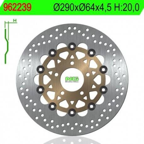 BRAKE DISC NG MEASURES 290 X 64 X 4.5