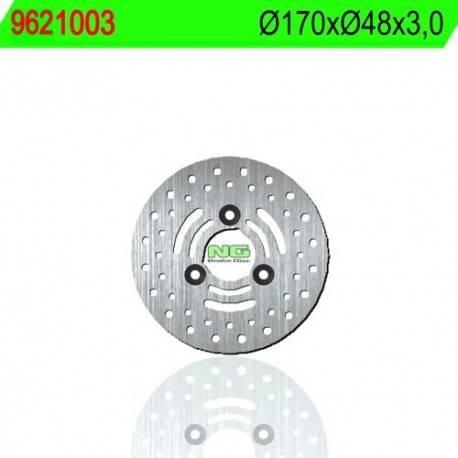 BRAKE DISC NG MEASURES 170 X 48.25 X 3