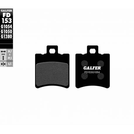 BRAKE PAD SET GALFER FD153-G1054