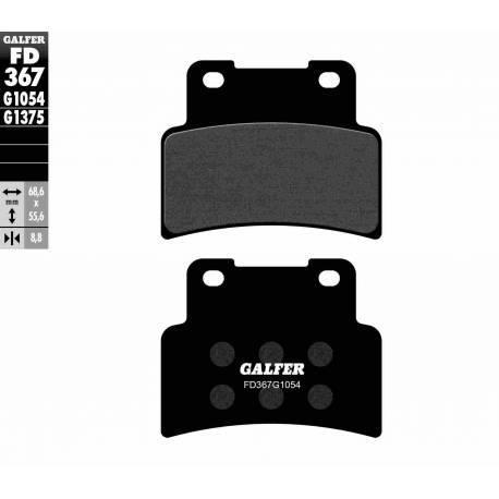 FRONT BRAKE PAD SET GALFER FD367-G1054