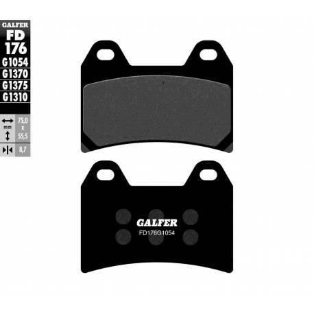 BRAKE PAD SET GALFER FD176-G1054