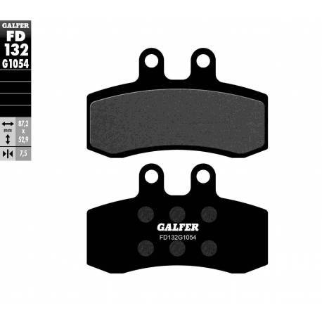BRAKE PAD SET GALFER FD135-G1054