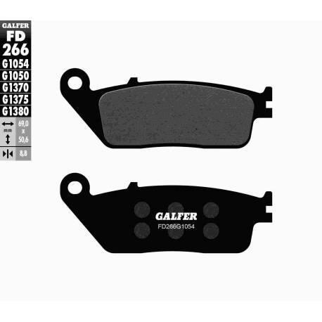 BRAKE PAD SET GALFER FD401-G1054