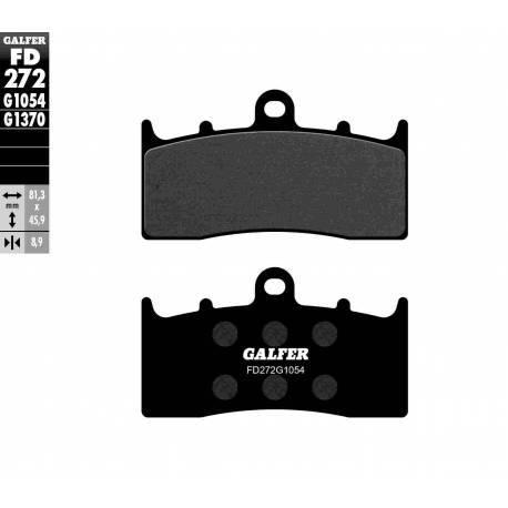 BRAKE PAD SET GALFER FD272-G1054