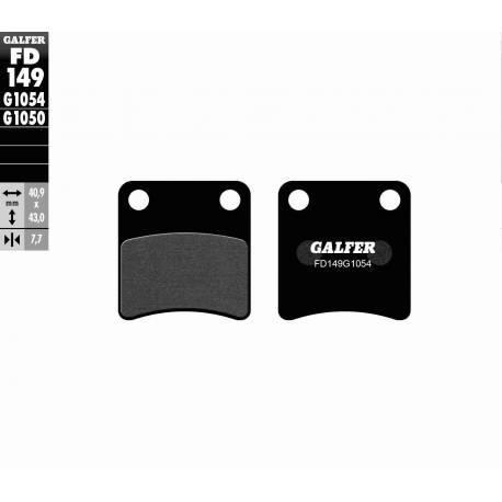 BRAKE PAD SET GALFER FD149-G1054