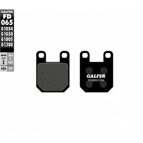 BRAKE PAD SET GALFER FD065-G1054