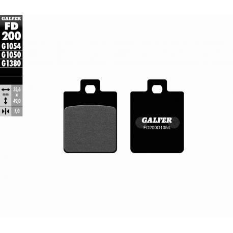 BRAKE PAD SET GALFER FD200-G1054