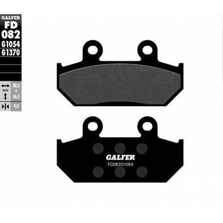 BRAKE PAD SET GALFER FD082-G1054