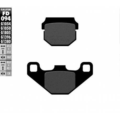 BRAKE PAD SET GALFER FD094-G1054