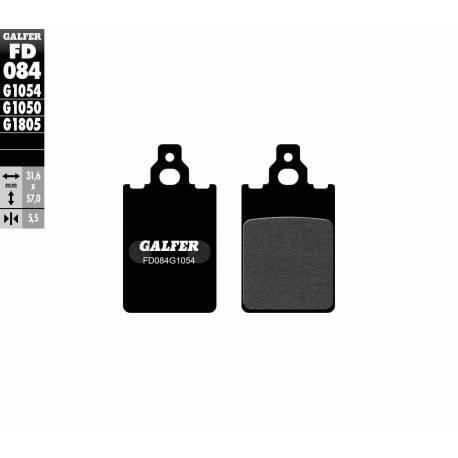 BRAKE PAD SET GALFER FD084-G1054