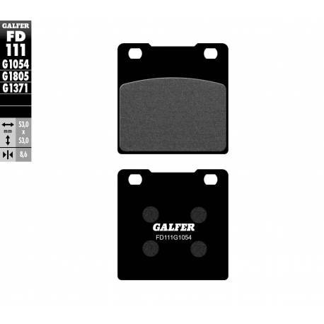 BRAKE PAD SET GALFER FD111-G1054