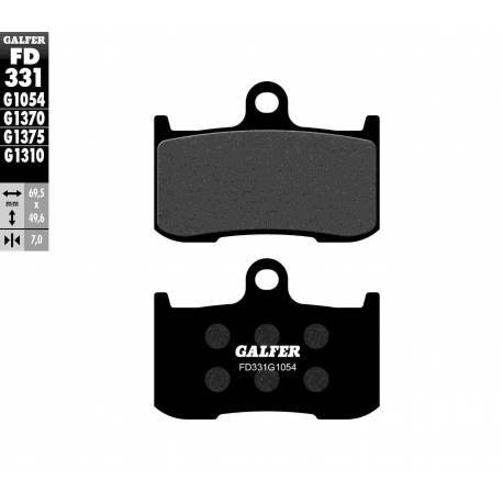 BRAKE PAD SET GALFER FD331-G1054