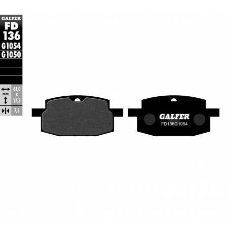 BRAKE PAD SET GALFER FD136-G1054