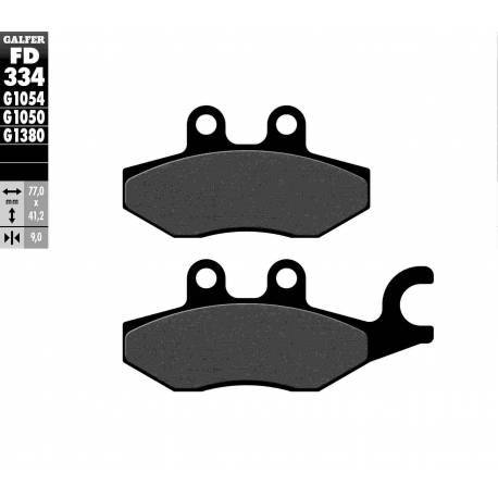 BRAKE PAD SET GALFER FD334-G1054