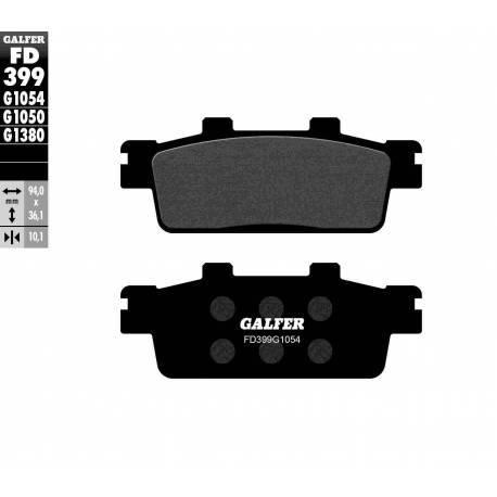 BRAKE PAD SET GALFER FD399-G1054