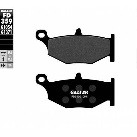 BRAKE PAD SET GALFER FD359-G1054
