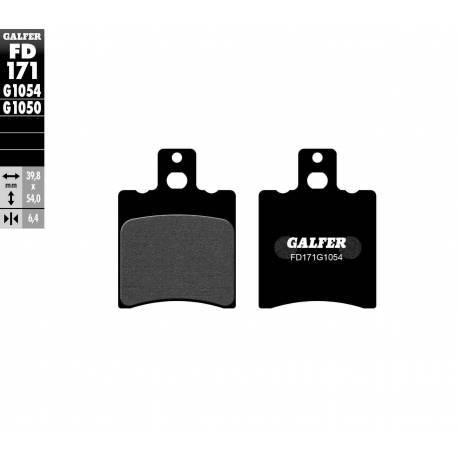 BRAKE PAD SET GALFER FD171-G1054