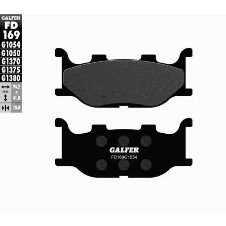 BRAKE PAD SET GALFER FD169-G1054