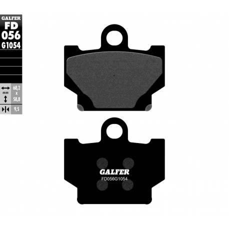 BRAKE PAD SET GALFER FD056-G1054