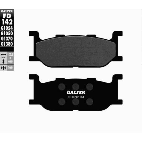 BRAKE PAD SET GALFER FD142-G1054