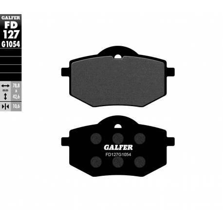 BRAKE PAD SET GALFER FD214-G1054
