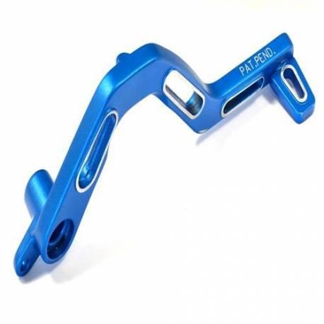Aluminium blue brake pedal Aprilia 11692AZ